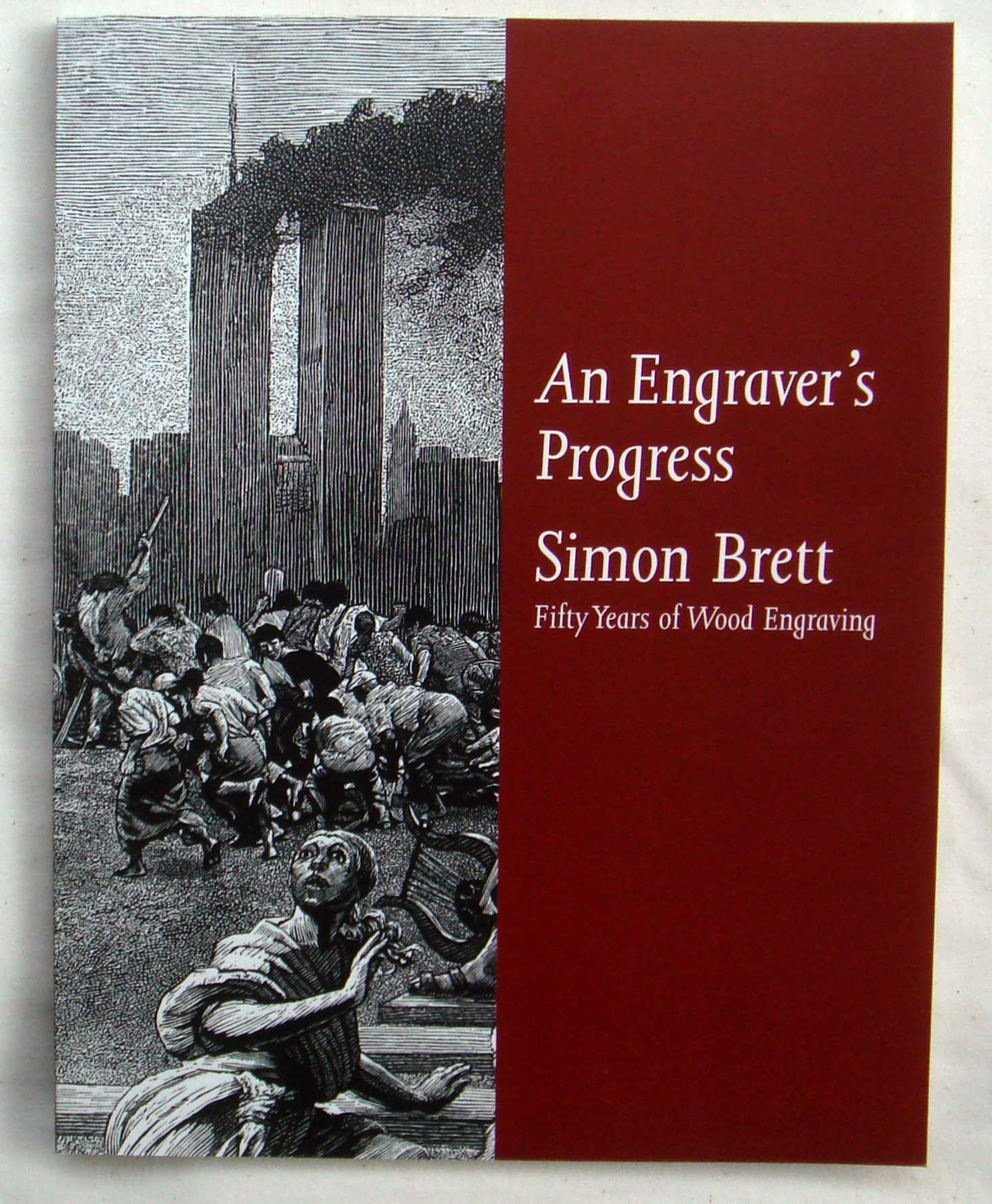 an engravers progress simon brett fifty years of wood engraving